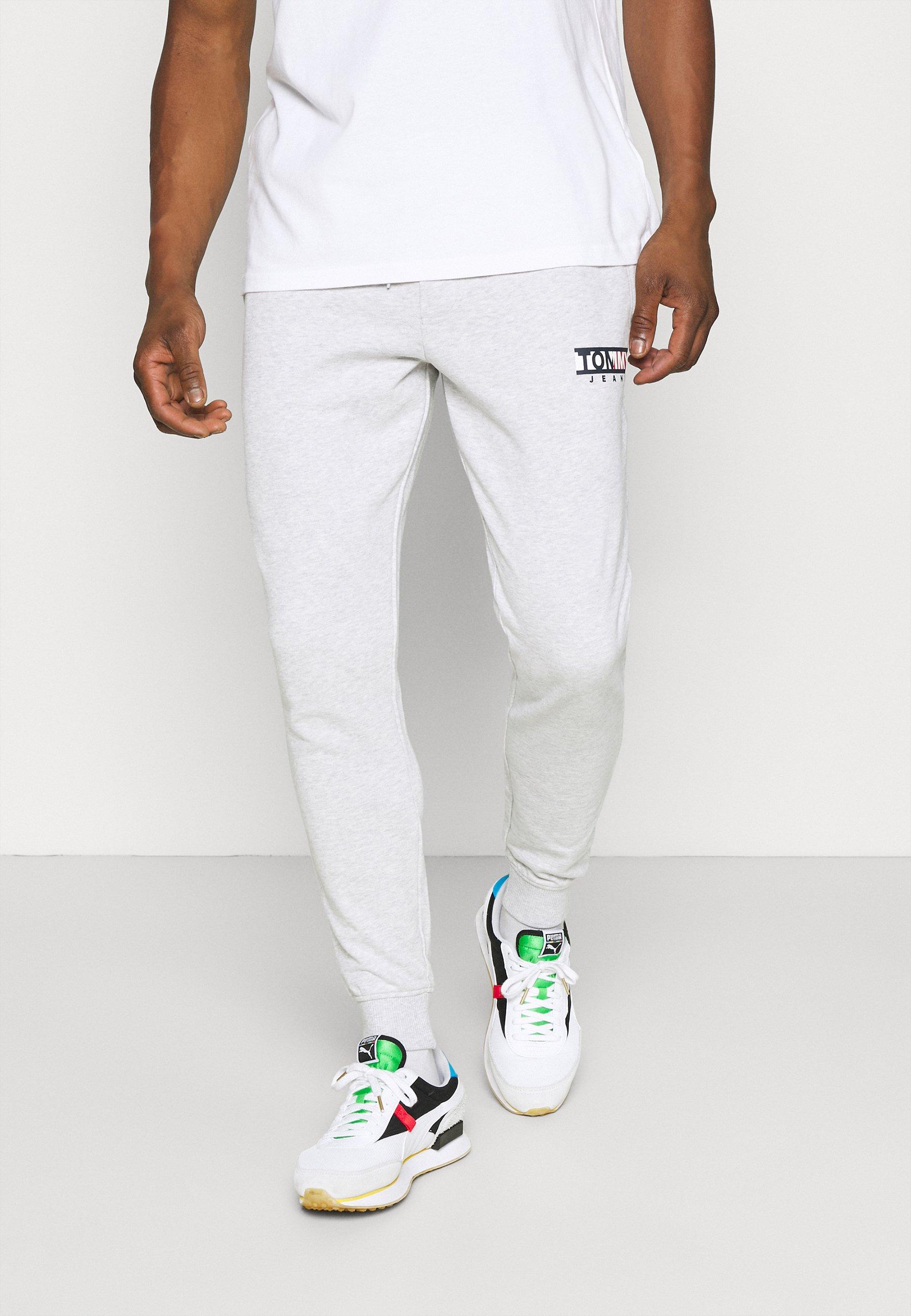 Homme ENTRY GRAPHIC PANT - Pantalon de survêtement - silver grey