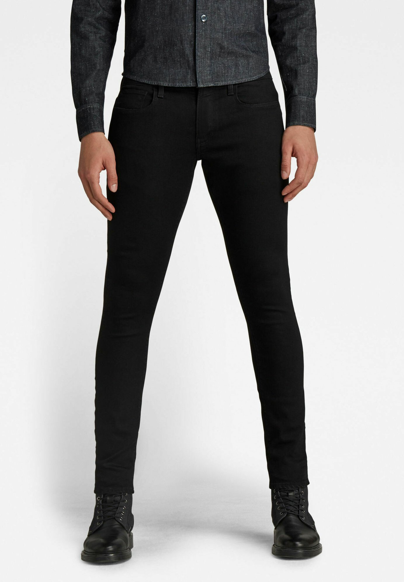 Uomo 3301 DECONSTRUCTED - Jeans slim fit
