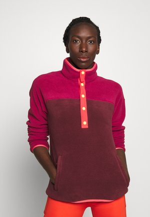 HEARTH - Fleece jumper - pink
