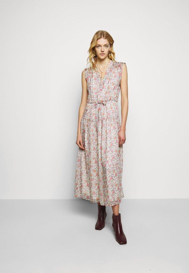 BECKI DRESS - Vestito lungo - mint multi