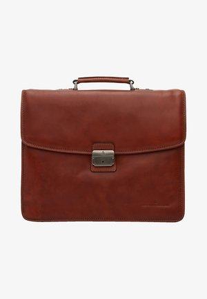 Briefcase - light brown