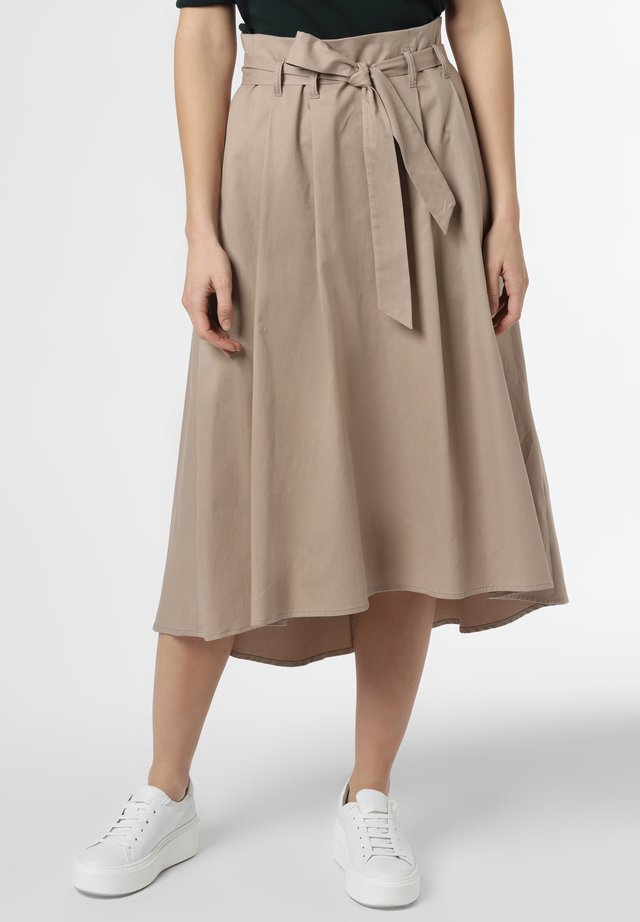 ROCK - A-line skirt - taupe
