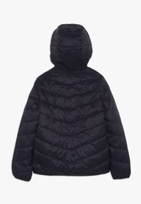 Abercrombie & Fitch - COZY PUFFER - Zimní bunda - navy/pink - 1