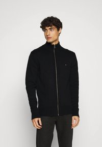 Tommy Hilfiger - CHUNKY ZIP THROUGH - Cardigan - black - 2