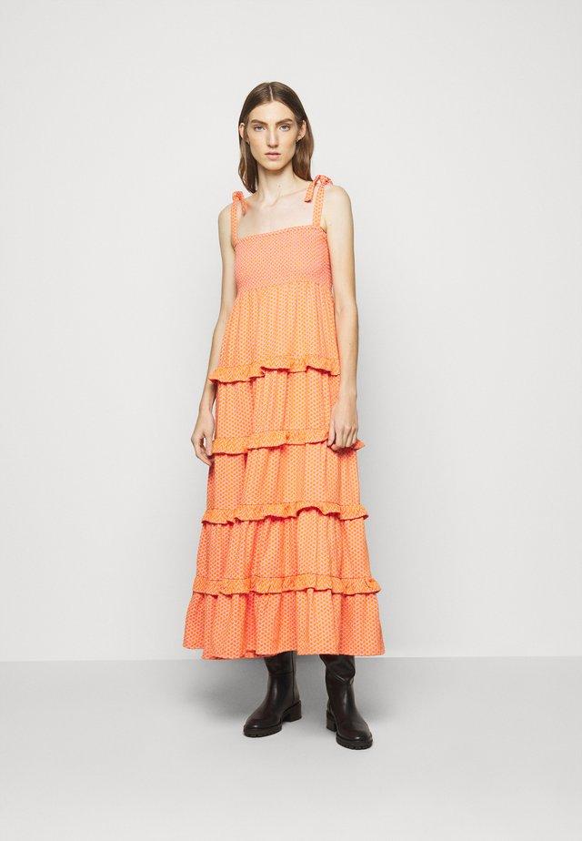 MINA - Maxi šaty - tangerine