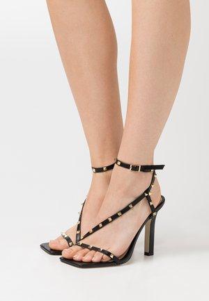 LURIANE - High heeled sandals - black