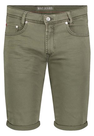 BERMUDA - Denim shorts - khaki light used