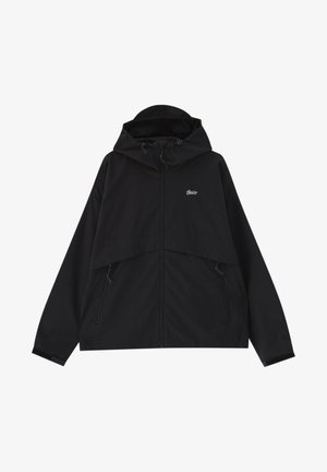 MIT KAPUZE - Waterproof jacket - black