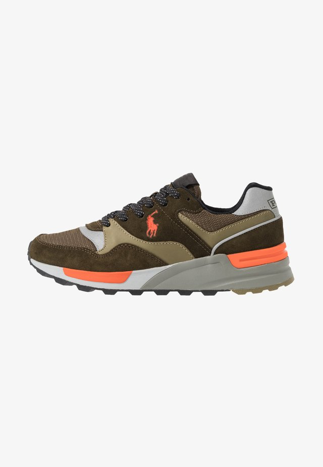 Trainers - deep olive/basket
