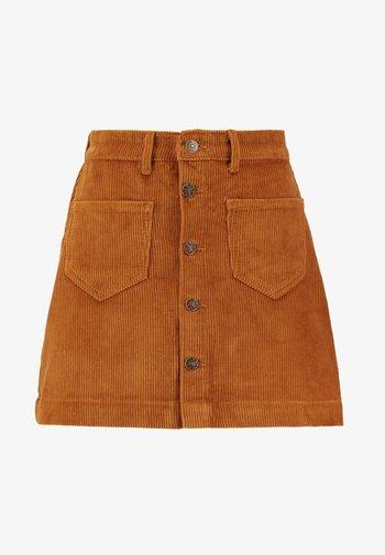 ONLAMAZING LIFE SKIRT - Gonna a campana - rustic brown