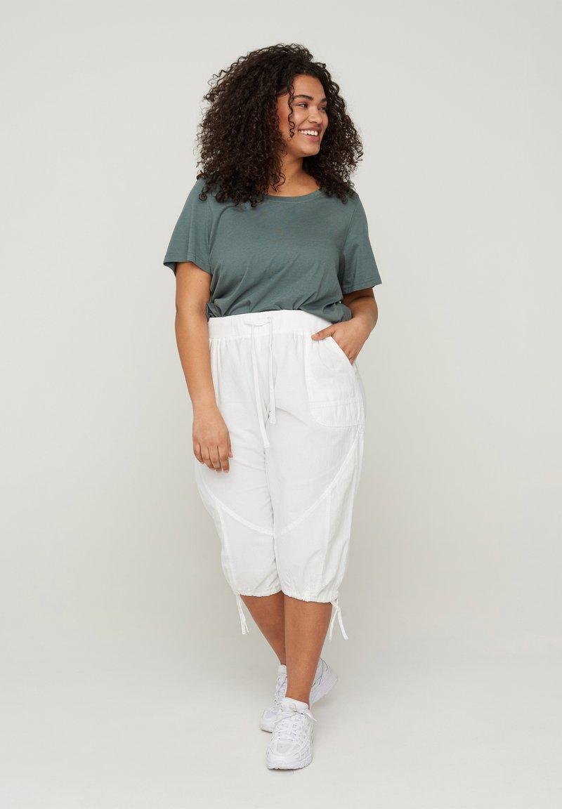 Zizzi - Shorts - white