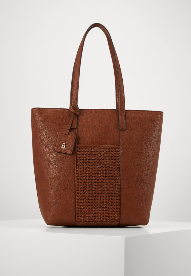 BERICAA - Shopping bag - cognac