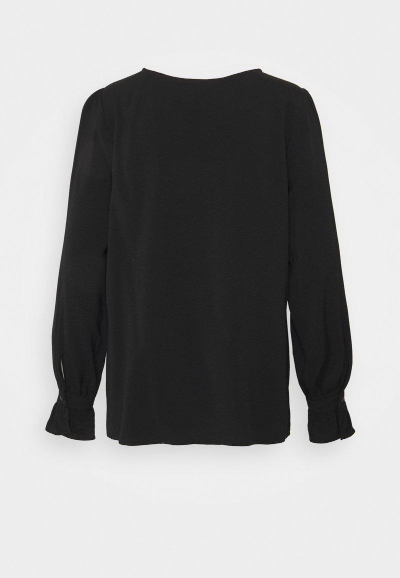 More & More BLOUSE 1/1 SLEEVE - Bluse - black/schwarz h2scQm