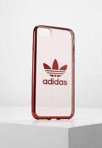 adidas Originals - OR CLEAR CASE  - Etui na telefon - collegiate burgundy - 0