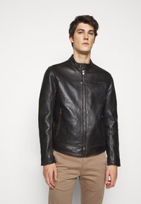 JOOP! Jeans - CLEARY - Leather jacket - brown - 0