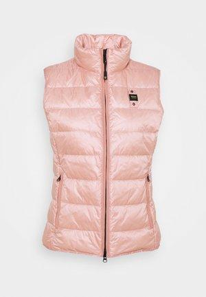 BASIC VEST - Waistcoat - light pink