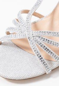Paradox London Pink - HATTICE - High heeled sandals - silver - 2