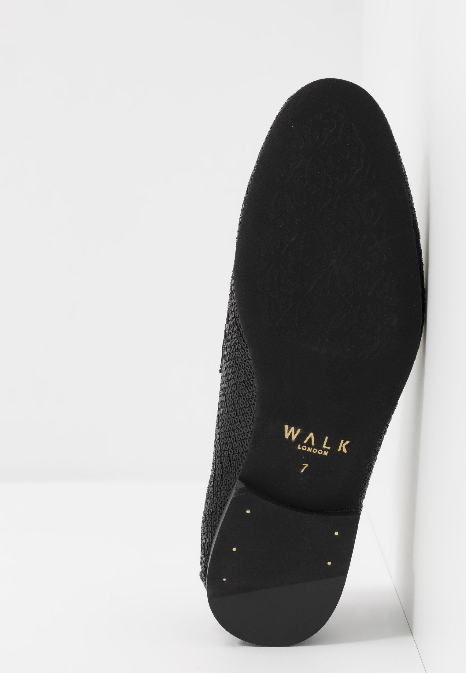 Walk London JUDE SEQUIN - Slippers - black