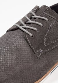 Pier One - Casual lace-ups - dark gray - 5