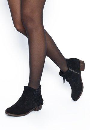 BLAKE BOOTS - Cowboy/biker ankle boot - black