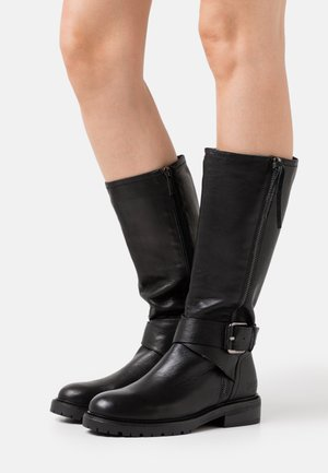 LADIES BOOTS  - Cowboy/Biker boots - black