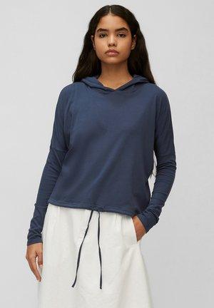 Long sleeved top - dress blue