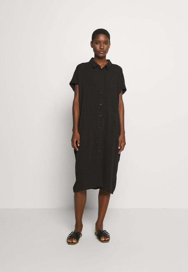 NELLA - Vestido camisero - black