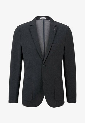Blazer jacket - dark grey melange