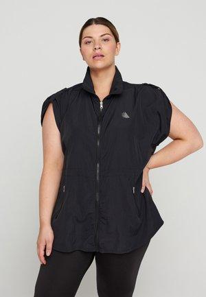 VERSTELLBARER TAILLE UND TASCHEN - Waistcoat - black