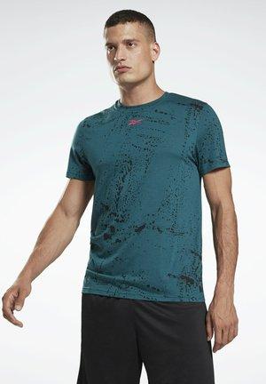 WORKOUT READY - Camiseta estampada - green