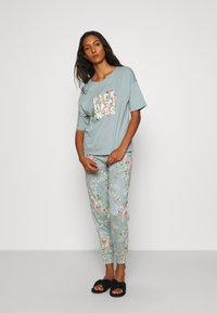 Marks & Spencer London - HAPPINESS - Pyjamas - aqua - 0