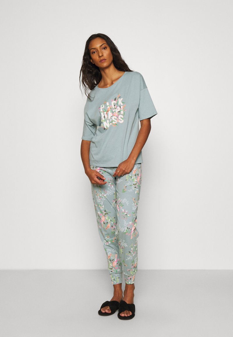 Marks & Spencer London - HAPPINESS - Pyjamas - aqua