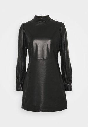 FROB - Korte jurk - black