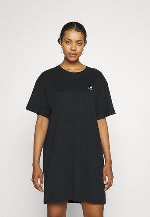 VIRGINIA T-SHIRT DRESS - Jerseyjurk - black