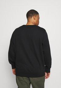GANT - PLUS ARCHIVE SHIELD C NECK - Sweatshirt - black - 2