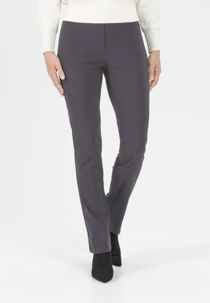 HOSE INA IN STRETCHIGER BENGALINE WINTERWARM - Trousers - anthrazit