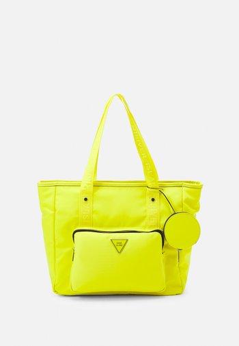 SET - Tote bag - yellow bright