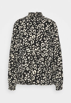 PCDALLAH - Blouse - black/white