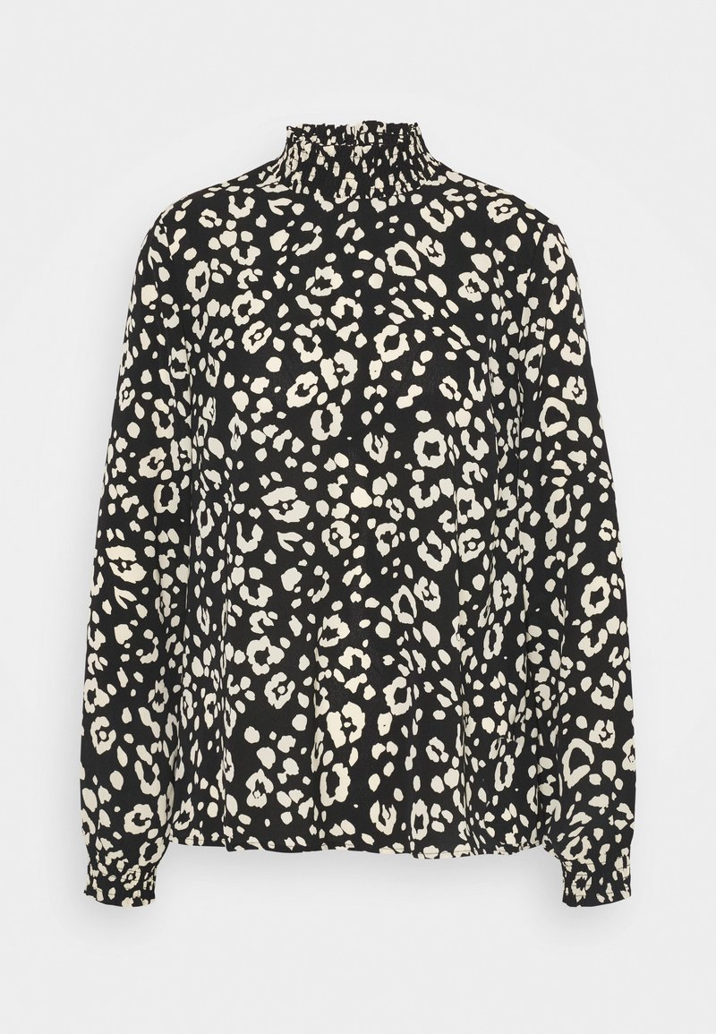 Pieces - PCDALLAH - Blouse - black/white