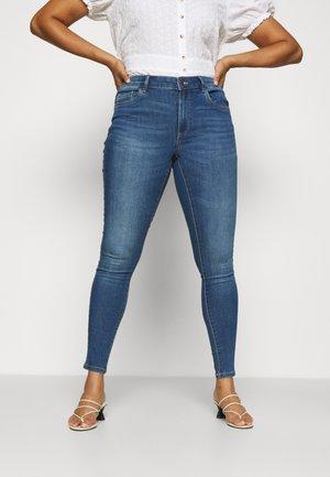 CARSALLY LIFE - Jeans Skinny Fit - medium blue denim