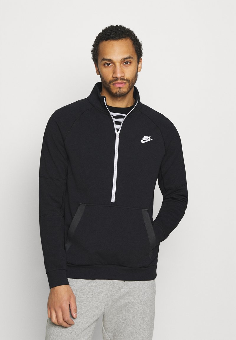 Nike Sportswear - MODERN - Sweatshirt - black/dark smoke grey/ice silver/white