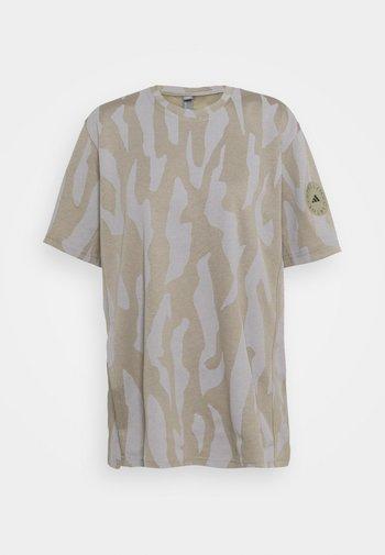 TEE - Camiseta estampada - clay/grey