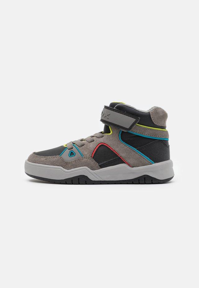 PERTH BOY - Sneakers high - black/grey