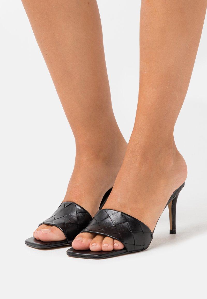 ALDO - ACENDAN - Heeled mules - black