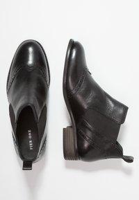 Pier One Wide Fit - WIDE FIT - Korte laarzen - black - 3