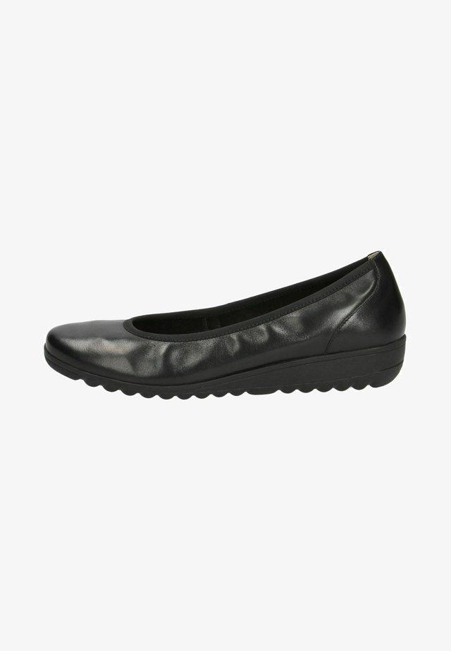 Sleehakken - black nappa