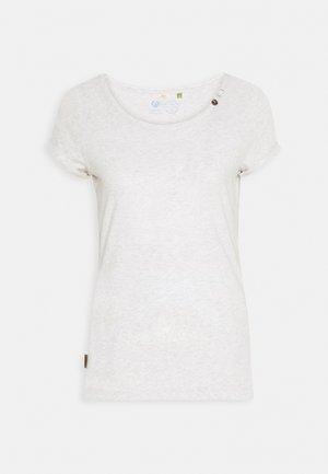 FLORAH ORGANIC - T-shirts med print - white