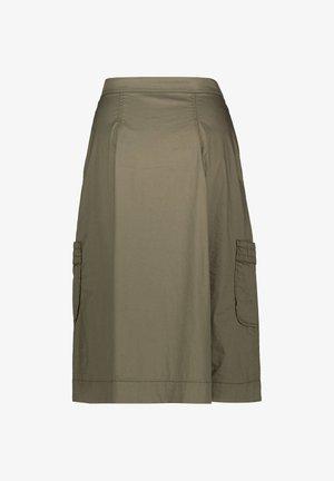 MARC CAIN DAMEN ROCK - A-line skirt - khaki (44)