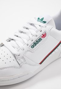 adidas Originals - CONTINENTAL 80 - Zapatillas - footwear white/collegiate green/scarlet - 5