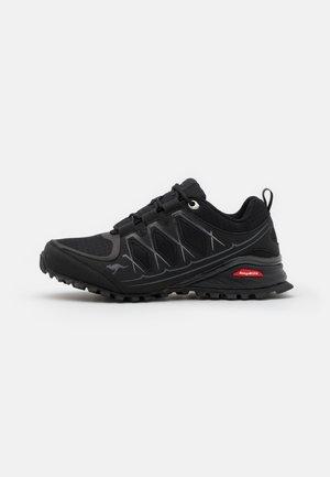 K-KRAIL  - Sneakers laag - jet black/steel grey